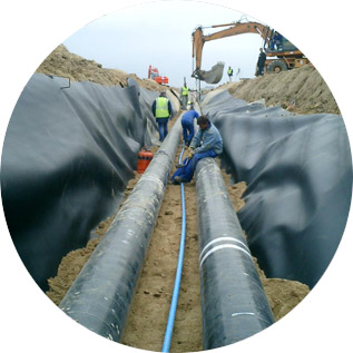 Below Ground Pipeline